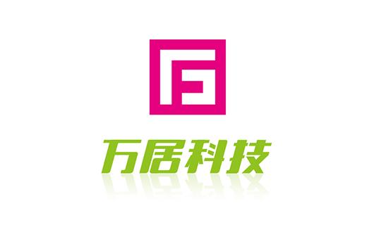 万居科技字体及Logo组合VI设计